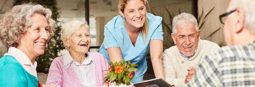Hébergement pour les personnes âgées