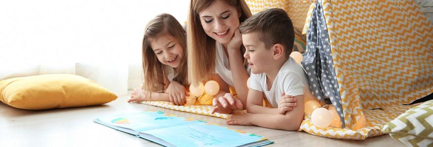 Garde d'enfants à domicile en anglais